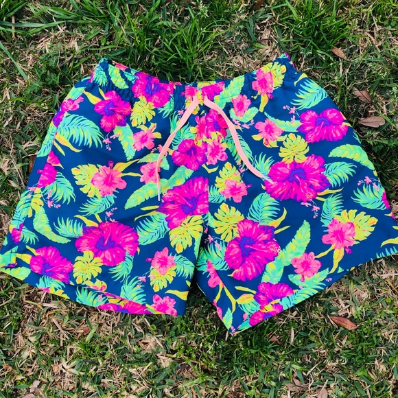 1edd8d2ac2 Vintage Swim | Chubbies Floral Patterned Trunks | Poshmark